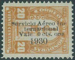 88722 - HONDURAS -  Yvert # PA 12  With Overprint  ERROR -   MINT MH Hinged - Honduras