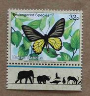 NY98-01 : Nations-Unies (New-York) / Protection De La Nature - Papillon D'or (Troides Aeacus) - Unused Stamps