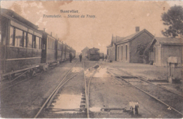 Zandvliet - Santvliet: Tramstatie - Stoomtram - Belgique