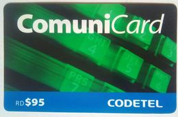 Dominicana RD 95 Codetel Comunicard - Dominicaine