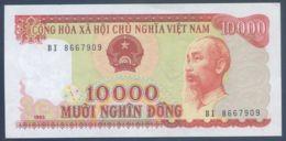 Ref. 3631-4068 - BIN NORTH VIETNAM . 1993. VIETNAM 10000 DONG 1993 - Vietnam