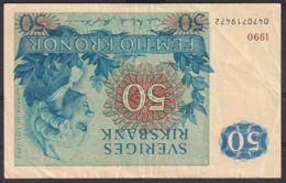 Ref. 3962-4399 - BIN SWEDEN . 1990. SWEDEN 50 KRONA 1990 - Svezia