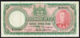 Ref. 4253-4756 - BIN FIJI . 1951. FIJI 1 POUND 1951 - Fiji