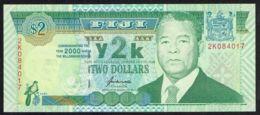 Ref. 4273-4776 - BIN FIJI . 2000. 2 DOLLARS FIJI 2000 - Fiji