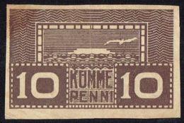 Ref. 4277-4780 - BIN ESTONIA . 1919. 1919 ESTONIA 10 PENNI - Estland