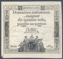 Ref. 5304-5809 - BIN FRANCE . 1792. FRANCE 15 SOLS 1792 - ...-1889 Tijdens De XIXde In Omloop