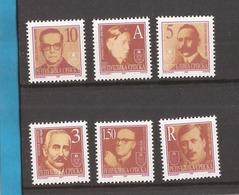 1997 60-65   BOSNIA ERZEGOWINA  SERBISCHE REPUBLIK  REPUBLIKA SRPSKA PERSONS DEFINITIVE    NEVER HINGED - Bosnie-Herzegovine