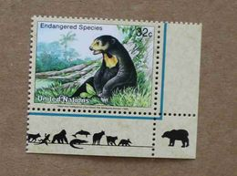 NY98-01 : Nations-Unies (New-York) / Protection De La Nature - Ours Des Cocotiers (Helarctos Malayanus) - Unused Stamps