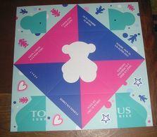 Grande Carte Espagnole Cocotte En Papier TOUS Surprise - Cartes Parfumées
