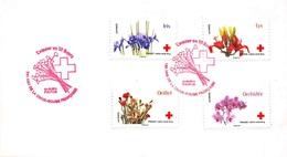FRANCE. FDC. N°208452. 24/05/2014. Cachet Paris. L'amour En 10 Fleurs. Croix Rouge - 2010-....