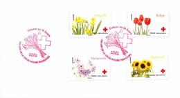 FRANCE. FDC. N°208453. 24/05/2014. Cachet Paris. L'amour En 10 Fleurs. Croix Rouge - 2010-....