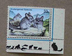 NY99-01 : Nations-Unies (New-York) / Protection De La Nature - Chinchilla à Longue Queue (Chinchilla Lanigera) - Unused Stamps