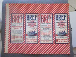 B Bref, Produit D'entretien, Feuille De Publicité - Advertising