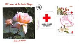 FRANCE. FDC. N°208457. 24/05/2014. Cachet Paris. L'amour En 10 Fleurs. Croix Rouge - 2010-....