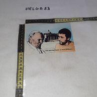 CT11922 STORIA ROMA 27 DICEMBRE 1983 PAPA GIOVANNI PAOLO II INCOTRA IN CARCERE DI REGINA COELI ALI AGCA - Histoire