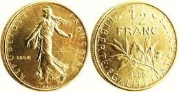 FRANCE 50 CENTIMES SEMEUSE OR PL 1965 Etat Sup Edition Limitée GARANTIE AUTHENTIQUE PRIX DEPART 1 EURO - Gold