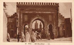 FEZ (Maroc) - Bab Bou-Jeloud - Cpa Petit Prix - Photo LL - TBE - Non écrite - Fez