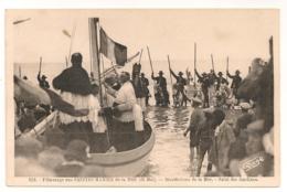 PELERINAGE AUX SAINTES MARIES / BENEDICTIONS DE LA MER  / SALUT DES GARDIANS   C865 - Saintes Maries De La Mer
