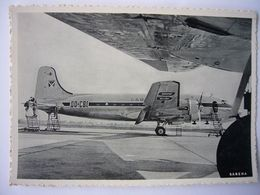 Avion / Airplane / SABENA / Douglas DC-4 / Airline Issue / Registered As OO-CBI - 1946-....: Ere Moderne