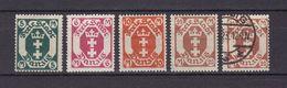 Danzig - 1922 - Michel Nr. 108/111 - Postfrisch/Ungebr. M. Falz/Gestempelt - Danzig