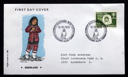 Greenland   1979 International Year Of Children  MiNr.118 FDC ( Lot Ks FOGHS COVER - FDC
