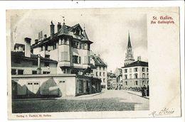 CPA-Carte Postale-Suisse- St Gallen-Am Gallusplatz-1902 VM18966 - SG St. Gallen