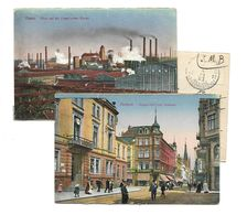 Belg.Bezet.  2 St. ESSEN (KRUPP) +BOCHUM PMB/BL Nr 11  15.VI.23 + 13.VI.23 - WW I