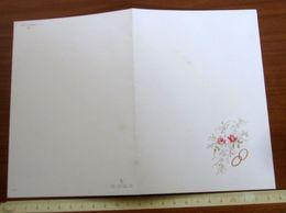 Nozze PARTECIPAZIONE BIGLIETTO INVITO 1977 Parrocchia S. Giovanni Castiglione Torinese TORINO - Wedding