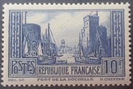 R1319/146 - 1929/1931 - PORT DE LA ROCHELLE - N°261 (III) NEUF** - QUALITE LUXE  - Cote (2020) :  170,00 € - Nuevos