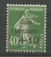 CAISSE D'AMORTISSEMENT N° 253  NEUF*  CHARNIERE / MH - Nuevos