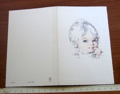Bambino Nascita PARTECIPAZIONE BIGLIETTO 1975 S. Secondo Di Pinerolo TORINO - Kotos 3193 - Nacimiento & Bautizo