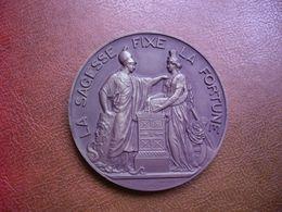 Médaille - 150 Ans De La Banque De France - 1800 1950 - Signée Dumarest - Très Bon état - PORT 3.8 € - Professionnels / De Société