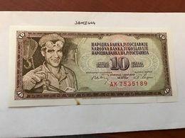 Yugoslavia Jugoslavia 10 Dinara Uncirc.  Banknote 1968 - Jugoslawien