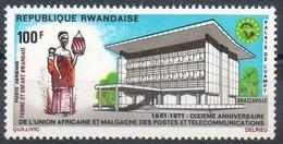 Rwanda 1971 OCBnr.  LP PA 8 *** MNH Cote 2.75 Euro - Correo Aéreo