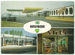 KRUIBEKE  -   E3  -  BP  ( Met Oude Mercedes ) - Kruibeke