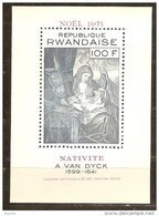 Rwanda Ruanda 1971 OCBn° Bloc 25 *** MNH Cote 5,75 Euro Noël Kerstmis Christmas - Ruanda