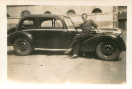VOITURE ANCIENNE  PHOTO ORIGINALE  8.50 X 6 CM - Cars