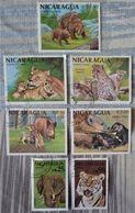 SIETE SELLOS DE NICARAGUA - Nicaragua