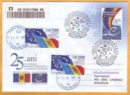 2020 Moldova Moldavia 25  Council Of Europe. European Ideas. - Idées Européennes