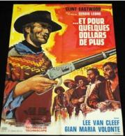 """POSTER """" L'AFFICHE AUTHENTIQUE Du FILM """" ET POUR QUELQUES DOLLARS DE PLUS """" Supplement Au TINTIN  N° 33 De 1973 - Spirou Magazine"""