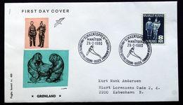 Greenland  1980  Handicrafts  MiNr.119 FDC ( Lot Ks) - FDC