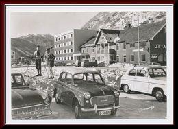 ★★ OTTA HOTELL. OTTA.  BILER. STPL OTTA 1962 ★★ UNUSUAL PC. OLD CARS, CAR. OTTA OPPLAND NORWAY ★★ - Noruega