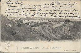 CHALON SUR SAONE Vue Prise Du Champgaillard - Chalon Sur Saone