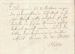 1773 Seltene Recepisse An Das Königl.Amt In Niedeck,Brief Eigeh. Geschrieben Vom Gerichtsherren Jobst Böse In Geismar - [1] Prephilately