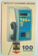 Slovakia 100 Units Telephone - Slovaquie