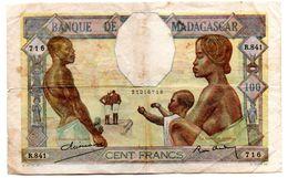 Madagascar / 100 Francs 1937 / TB - Madagaskar