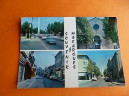 """Dep 13 Souvenir De  Mazargues """" Marseille 9e """" Multivues 4 ( Neuve ) Edit Marc ( Voitures - France"""