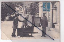Plombières Les Bains (88) Chaise à Porteurs (Enseigne Kodaks) - Plombieres Les Bains