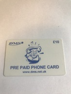 7:094  -  England DMS Satelite Prepaid - Royaume-Uni