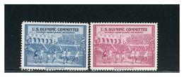 USA - GIOCHI OLIMPICI LONDRA 1948   Vignetta  Cinderella - Summer 1948: London